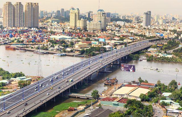レジェンドホテルサイゴンがあるベトナムのホーチミン