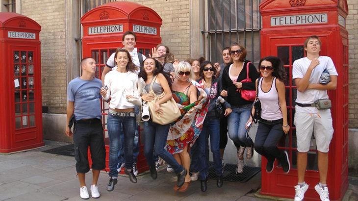 ロンドン大学生イメージ